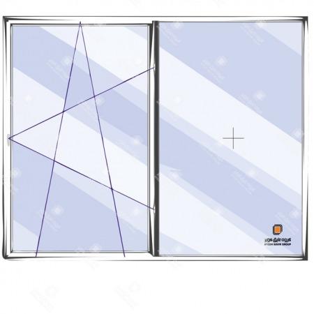 پنجره دوحالته