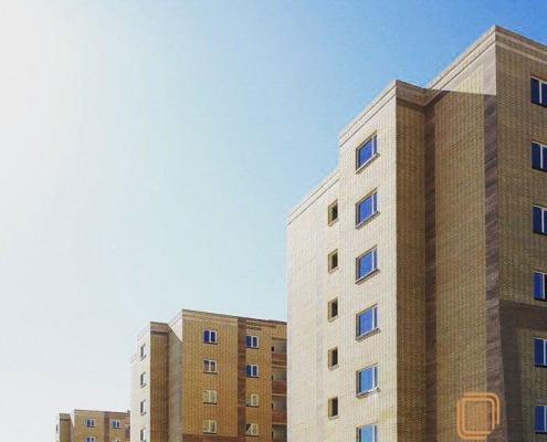 پنجره UPVC - یزد- مجتمع مسکونی باران