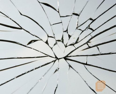 شیشه نیمه نشکن شیشه تک جدار سیکوریت