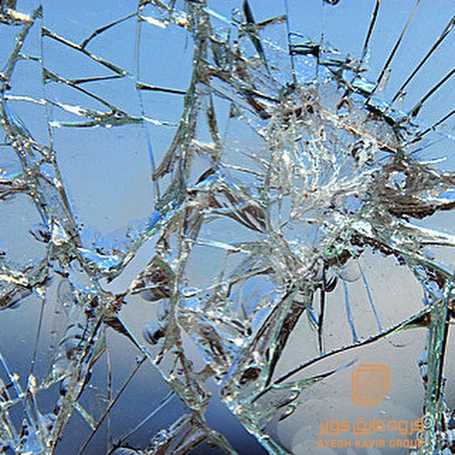 شیشه نیمه نشکن ونوس شیشه تک جدار سیکوریت
