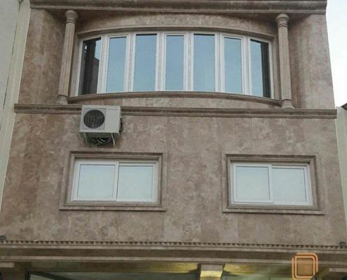 پنجره UPVC - قائم شهر (خطیر کلاه )- آقای ابراهیم آقا جانی