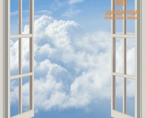 پنجره دوجداره یو پی وی سی در و پنجره های عایق