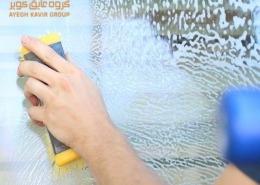 نظافت پنجره یو پی وی سی