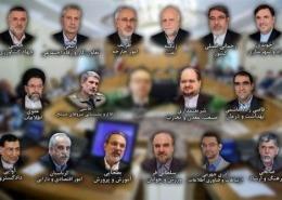 رای اعتماد مجلس به وزرای پیشنهادی کابینه دوازدهم