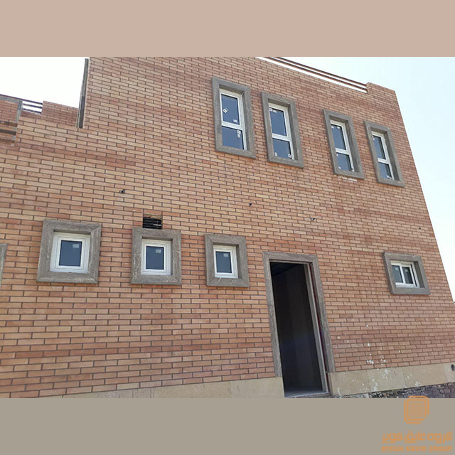 پنجره آلومینیوم - مدرسه سفید شهر