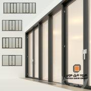 درب های بدون لولا