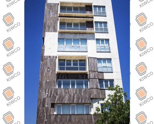 پنجره UPVC - آقای مهندس سفید آبی