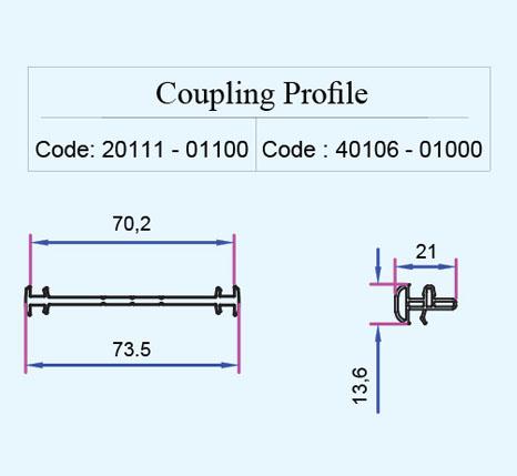 پروفیل coupling 1