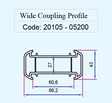 پروفیل wide coupling