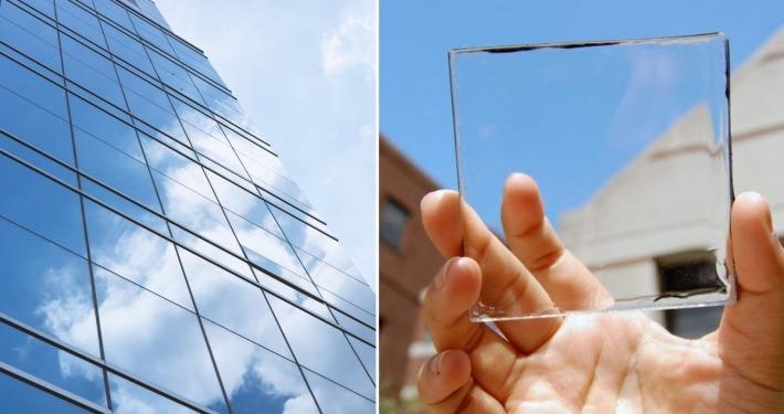 شیشه های مولد جریان برق