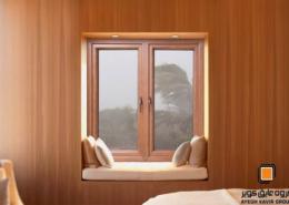 در و پنجره UPVC لمینیت