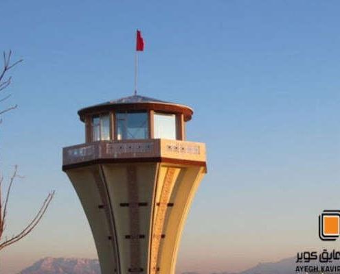 پنجره UPVC فرودگاه مهریز یزد