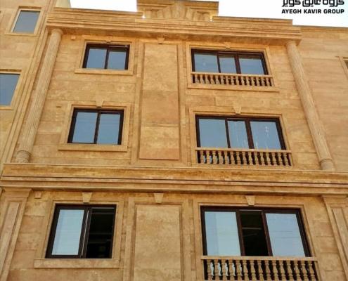 پروژه پنجره upvc- سمنان- آقای احمدی