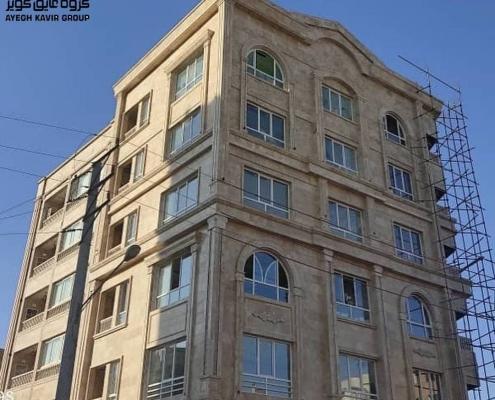 پروژه پنجره upvc- مشهد- آقای علینیا