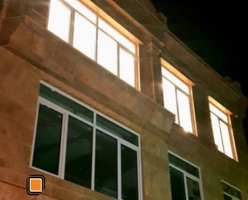 پروژه پنجره upvc طرقبه بنایی