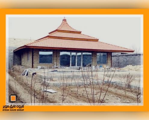 پروژه در و پنجره upvc کوشک اصفهان آقاخانی