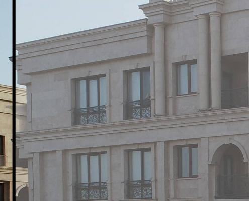 پروژه های انجام شده درب و پنجره دوجداره در یزد